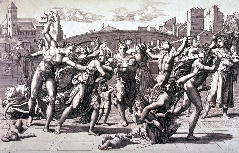 Massacre of the Innocents - by Raphael