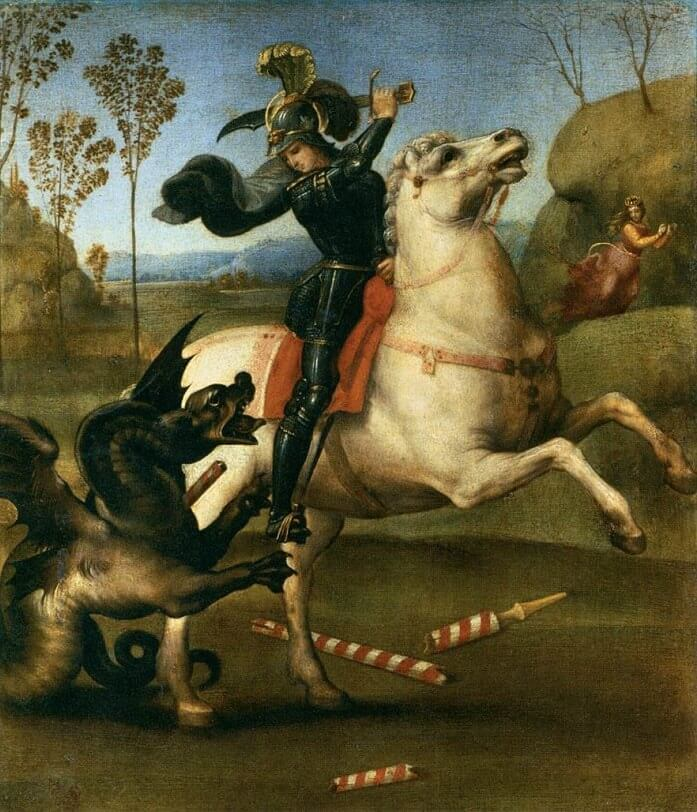 St. George - by Raphael